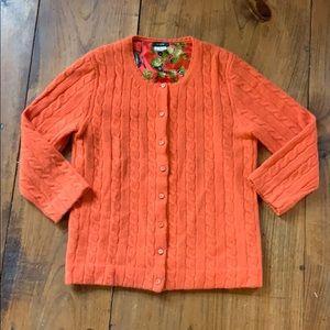 J. Crew Cashmere wool blend sweater
